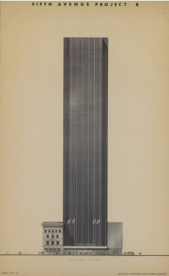 Cäsar Pinnau, Olympic Tower New York | 1970, HAA P425